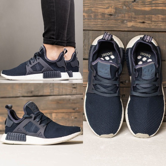 le adidas nwb nmd rt scarpe blu poshmark traccia 75